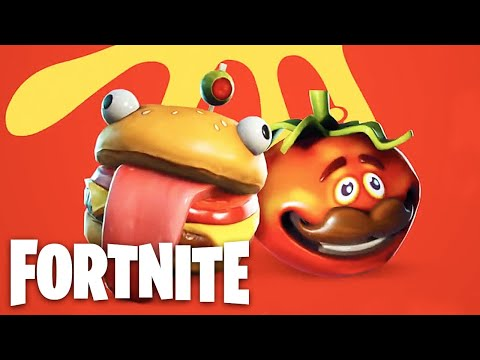 Fortnite Battle Royale - Food Fight Trailer