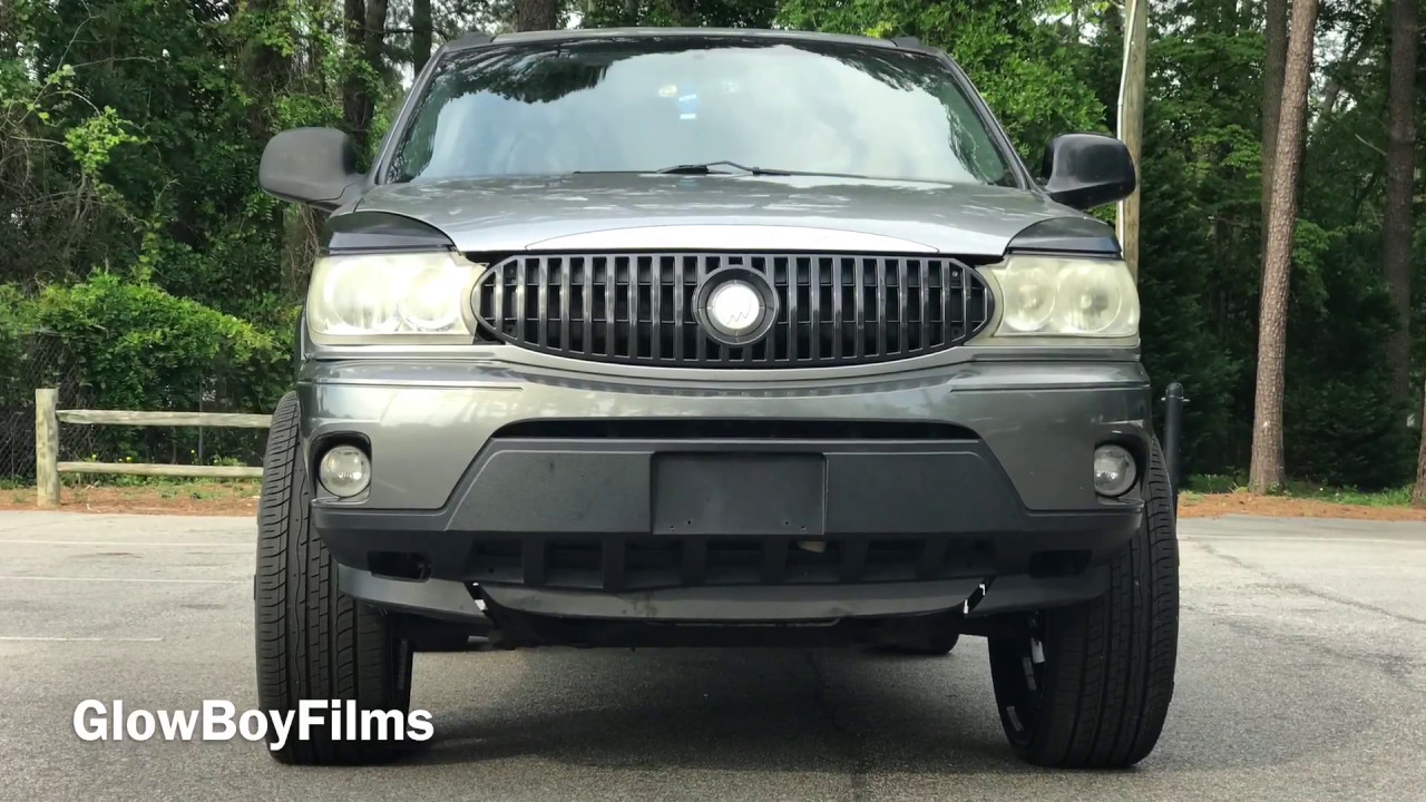 First In The World Buick Rendezvous On 28s Youtube
