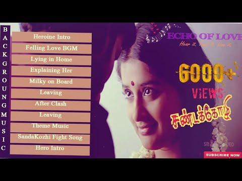 SandaiKozhi | Full Movie Best BGM | Yuvan Shankar Raja|♥
