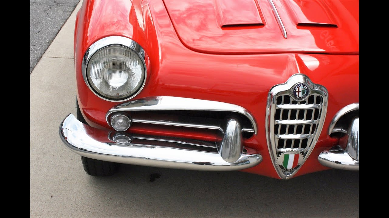 1961 alfa romeo giulietta spider veloce - walkaround and drive