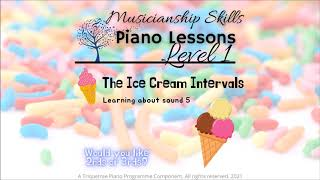 Ice Cream Intervals. Learning About Sound 5