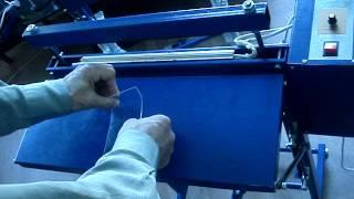 видео Гибка пластика