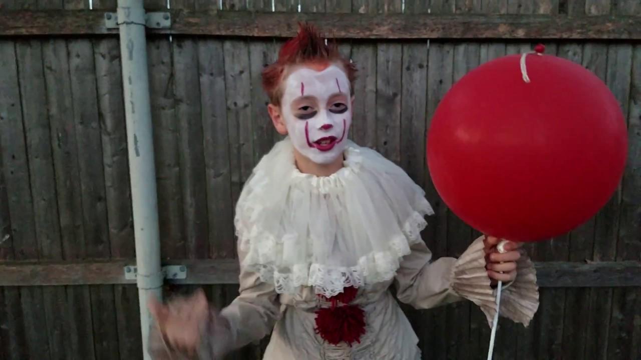 DIY Pennywise Halloween Costume!!! (IT 2017)