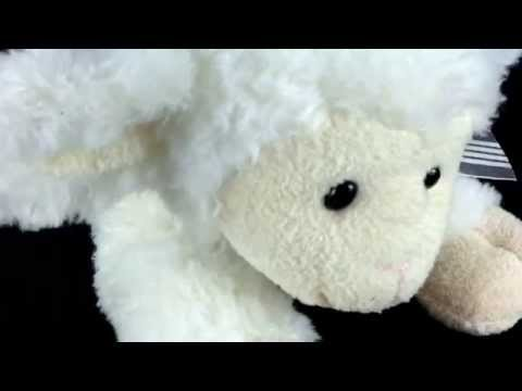 Musical Wind Up Lamb Plays Jesus Loves Me Stuffed Plush Easter Baby