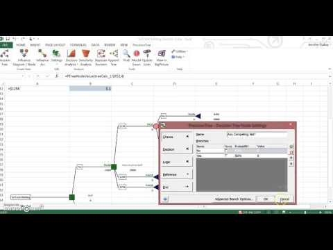 Ch 9 SciTools Bidding Decision Precision Tree tutorial