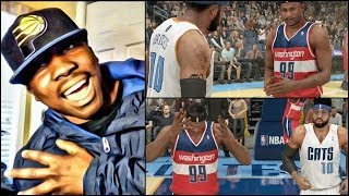 NBA 2k14 MyCAREER PS4 Gameplay - FaceCam QJB Dislocates Shoulder From Being Too Hyped
