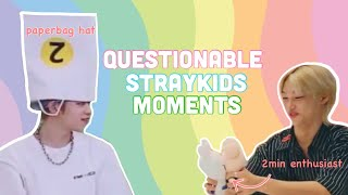 Questionable straykids moments to watch while you stream ✨thunderous✨
