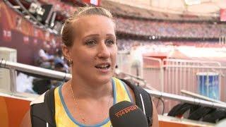 Fotboll VM-Kval 2014: Tyskland-Sverige Sveriges VM-släggkastare Tracey Andersson var inte ens nära att ta sig final i Peking. Men Andersson lyckades