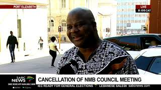 Cancellation of NMB council meeting