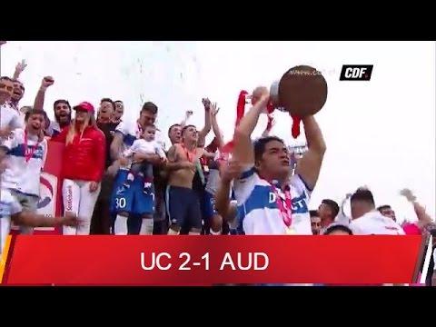U. Catolica 2-1 Audax Italiano Fecha 15 1A Clausura 2015/2016