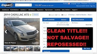 Buying Clean Title Cars on Copart and IAA - SAVE BIG $$$