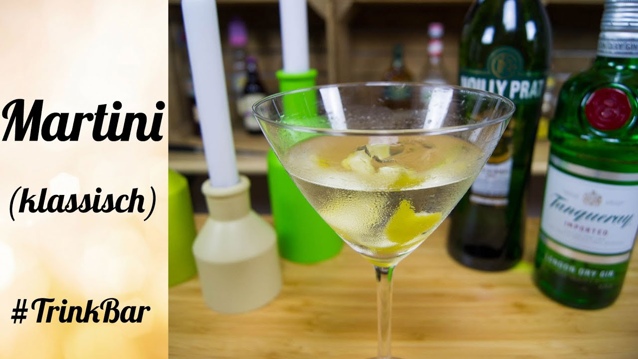 martini dry klassisch cocktail selber machen rezept trinkbar youtube. Black Bedroom Furniture Sets. Home Design Ideas