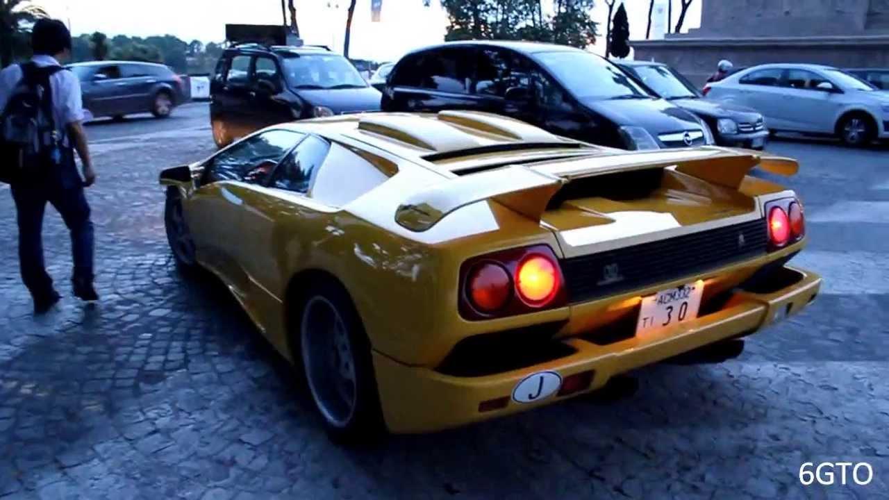 Rare Lamborghini Diablo Se30 Jota Sound Amp Driving Youtube