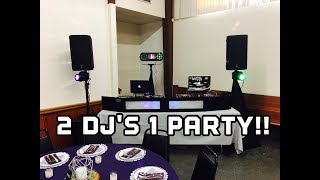 Wedding Gig Log! Using the ADJ Boombox FX2 for the first time.