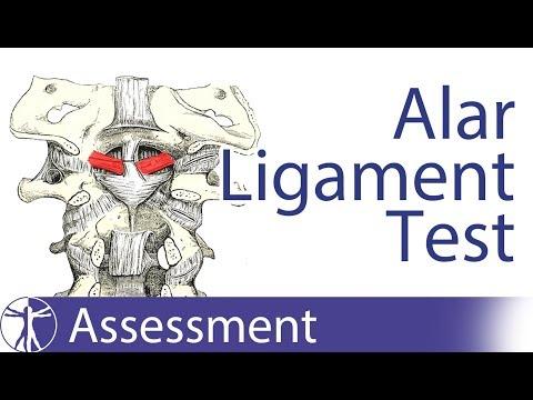 Alar Ligament Stress Test | Upper Cervical Spine Instability