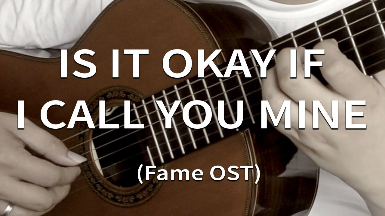 Is It Okay If I Call You Mine Paul Mccrane Solo Guitar Cover
