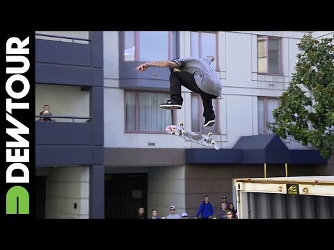 Ryan Sheckler's final run from Skateboard Streetstyle, Dew Tour ...