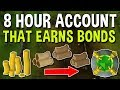 How to Build an Account in 8 Hours that Earns Bonds! Building a Plank Making Alt [OSRS]