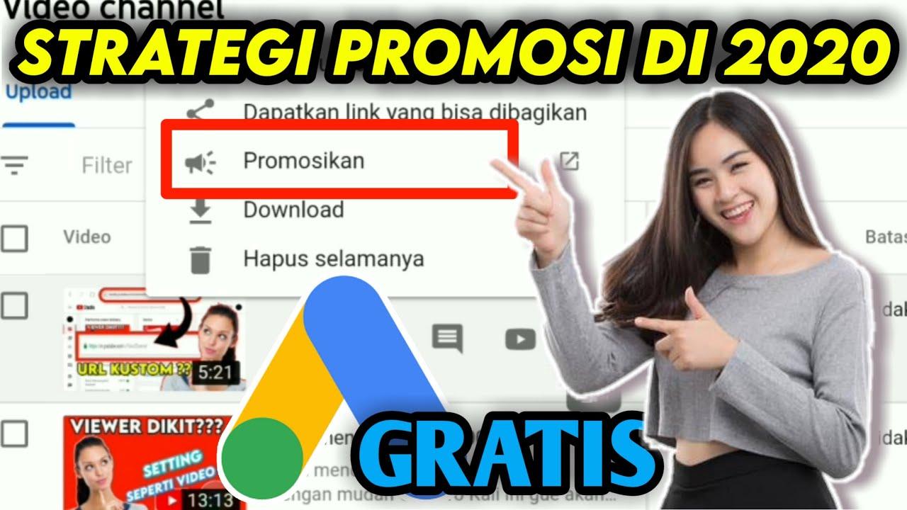 Cara Promosi Channel Youtube Gratis Youtube