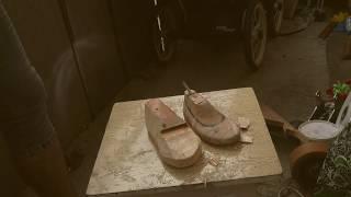 як зробити колодки для взуття своїми руками