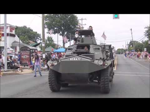 Saracen FV603, July 4 2016 Parade
