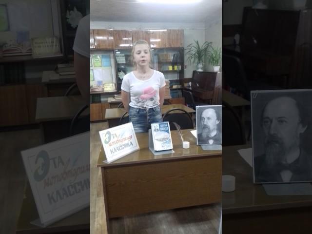 Изображение предпросмотра прочтения – АннаПрокопчук читает произведение «Перед дождем» Н.А.Некрасова