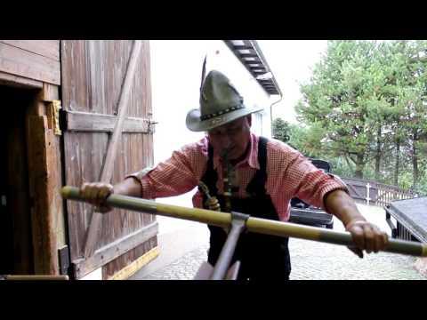 Handwerke längst vergangener Zeiten - Folge 3 - Holz-Brunnen-Röhrenbohren um 1900