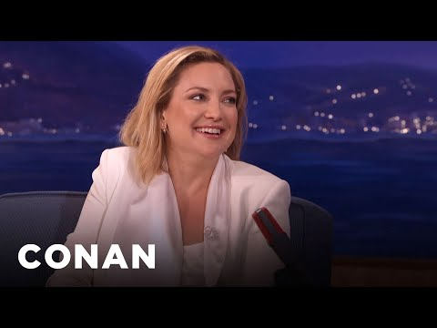 Kate Hudson Loves To Be Naked   CONAN on TBS