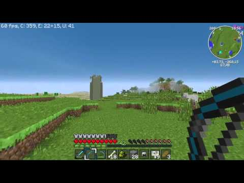 Sezon 2 Minecraft Modlu Survival Bölüm 6 - Haydar ve Dümen