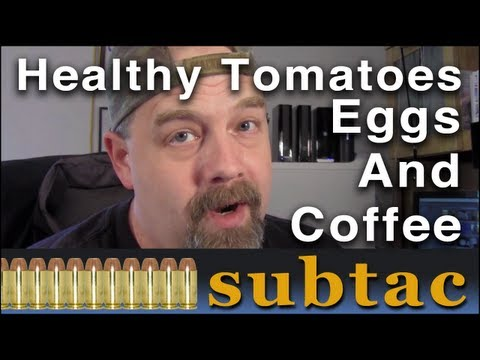 Want Healthy Tasty Tomatoes | Eggshells And Coffee Grounds