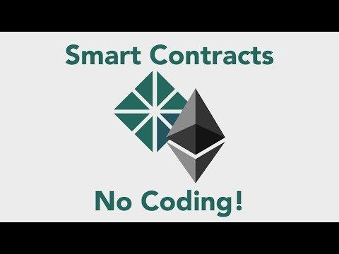 Automatic Smart Contract Development (No Coding!)