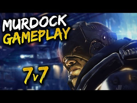 Murdock Gameplay - Overthrow Paragon - 7 versus 7!