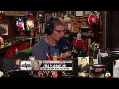 Jim McMahon talks about playing with a broken neck 08/21/2015