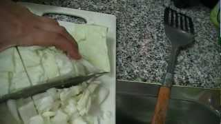 Тушёная капуста с мясом - От Геши