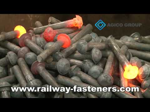 How high quality Rail Bolts are made?—AGICO GROUP