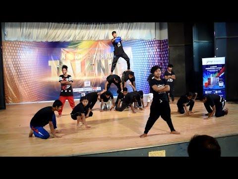 Assam Parkour at NorthEast's Got Talent   Indian Parkour