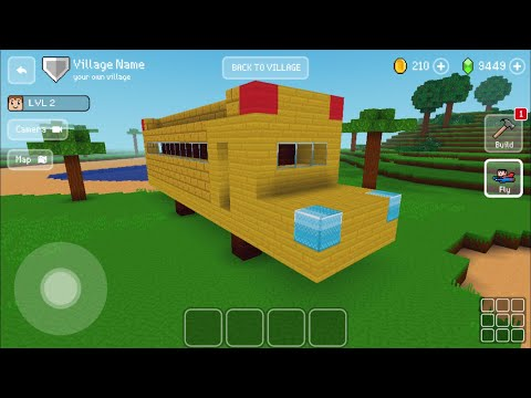 Block Craft 3D : Building Simulator Games For Free Gameplay#369 (iOS & Android) | School Bus 404