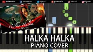 HALKA HALKA Rahat Fateh Ali Khan|Ayushmann Khurrana|Song|Piano Chords Instrumental By Ganesh Kini