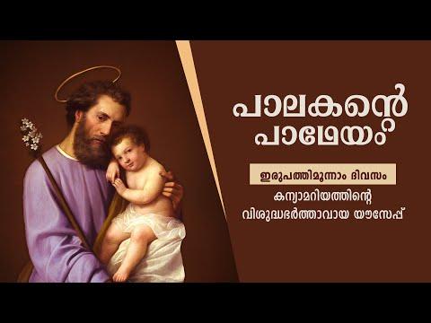 Palakante Padheyam   Day 23   33 Days Consecration to St. Joseph