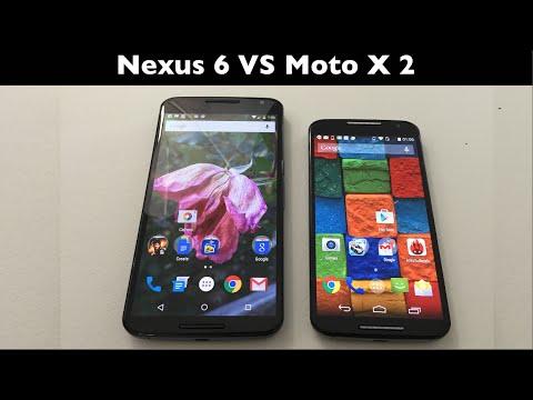 Nexus 6 VS Moto X 2 cual es mas r�pido?, gran sorpresa!!
