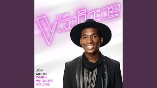 When We Were Young The Voice Performance