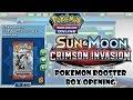 Crimson Invasion Booster Box Opening Pokemon TCG Online mp3