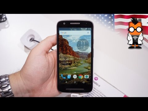 Lenovo Moto E3 Hands On - entry level phone with a good display