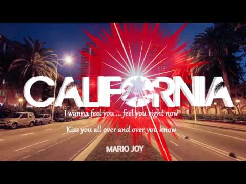 Mario Joy - California (Lyric Video)