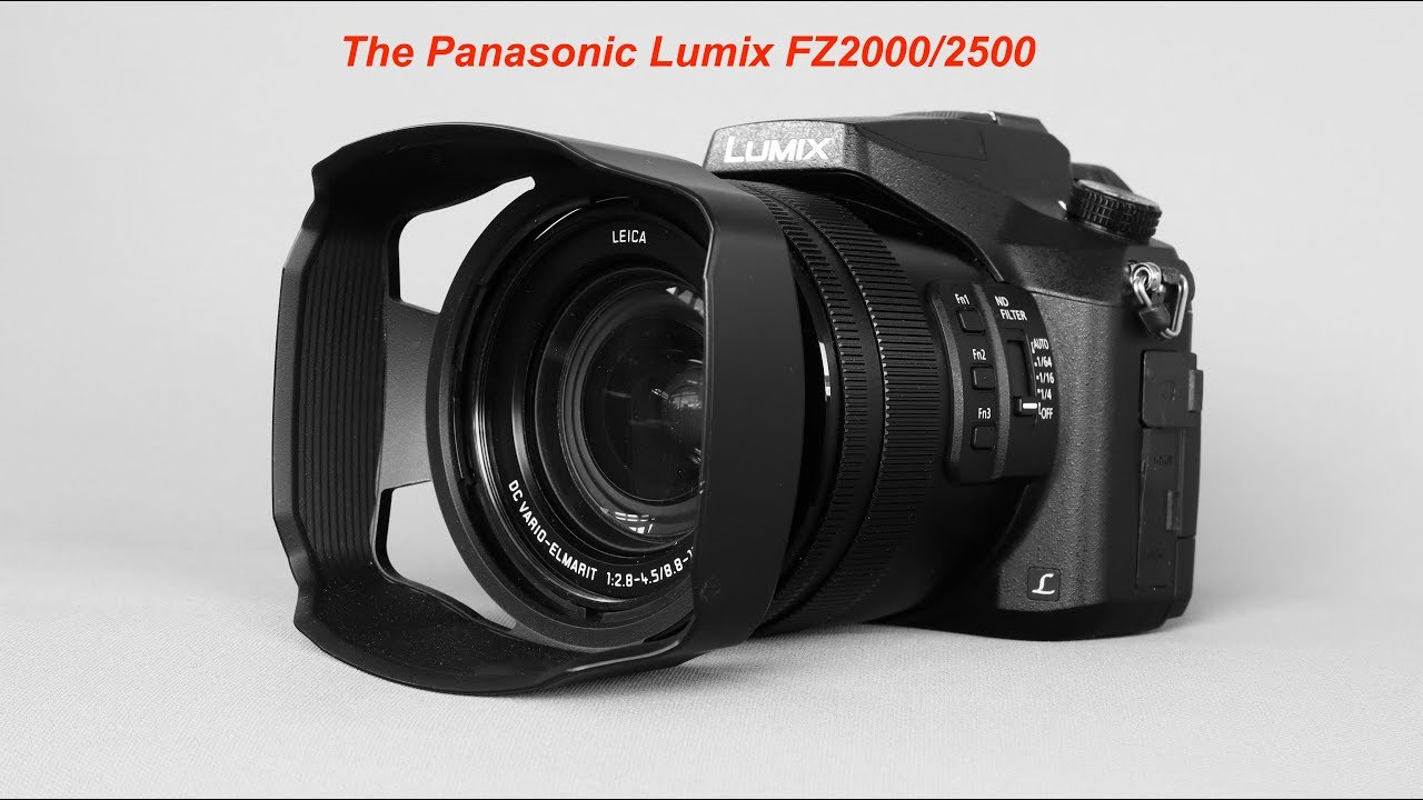 Graham's Guide to the Panasonic Lumix FZ2000/2500 Part4: Manual Control