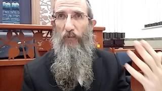 הרב ברוך וילהלם - תניא -  אגרת התשובה - המשך פרק א
