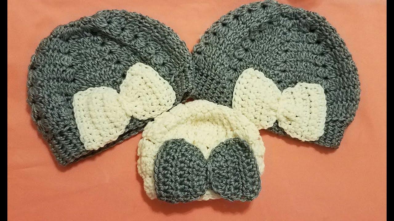 Mo o lazo a crochet ganchillo youtube - Como hacer colcha de ganchillo ...