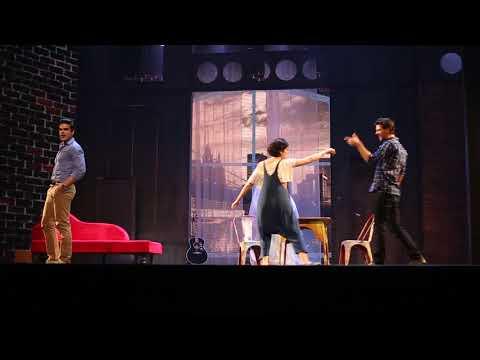 É aqui - Ghost, O Musical (Teatro Bradesco Rio)