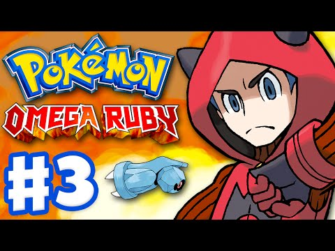 Pokemon Omega Ruby and Alpha Sapphire - Gameplay Walkthrough Part 3 - Team Magma Grunt!