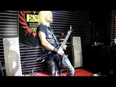 NAMM 2015 - ESP Booth Performance - SYU of Galneryus